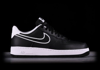 NIKE AIR FORCE 1 '07 LEATHER BLACK