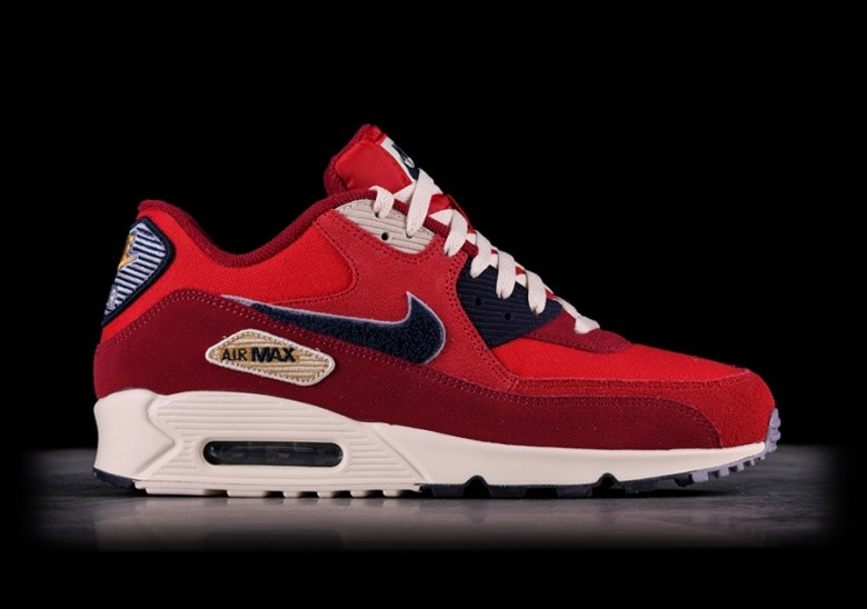 4bc927f63a9b7 NIKE AIR MAX 90 PREMIUM SE UNIVERSITY RED price €142.50 | Basketzone.net