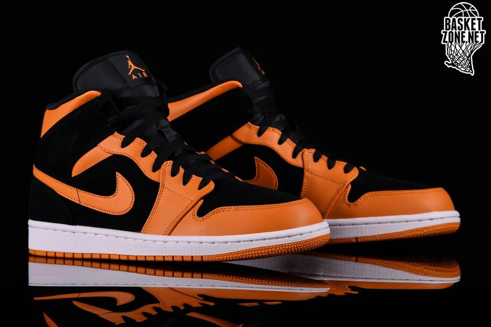 Air Orange Peel Nike Pour Jordan 1 Retro Mid Black 0w8nOPkX