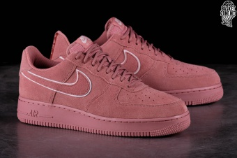NIKE AIR FORCE 1 '07 LV8 SUEDE RED STARDUST