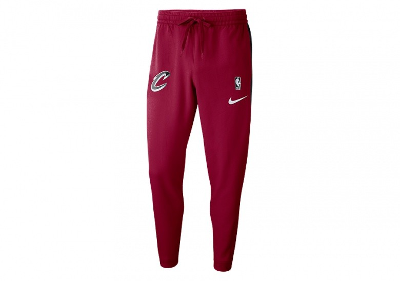 NIKE NBA CLEVELAND CAVALIERS SHOWTIME DRY PANTS TEAM RED