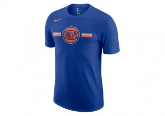 NIKE NBA NEW YORK KNICKS LOGO DRE TEE RUSH BLUE