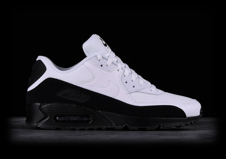 best service 575c3 14525 NIKE AIR MAX 90 ESSENTIAL BLACK WHITE