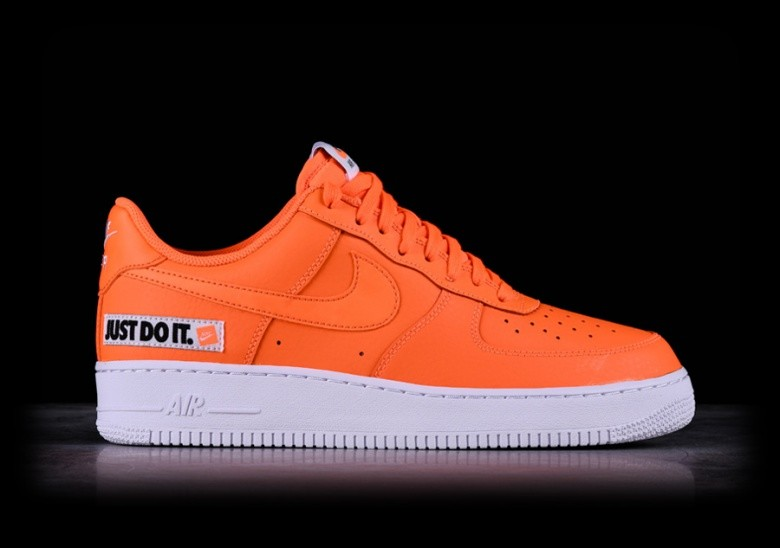 NIKE AIR FORCE 1 '07 LV8 LTHR JUST DO IT