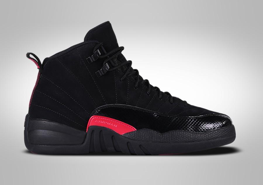 e69045d6392 NIKE AIR JORDAN 12 RETRO BLACK RUSH PINK GG price €137.50 | Basketzone.net