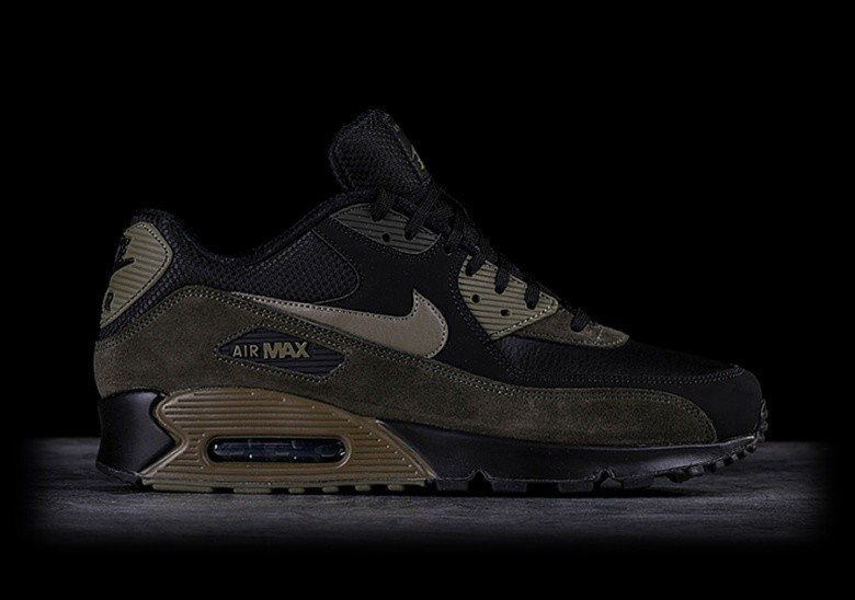 sports shoes 2013a a49cd NIKE AIR MAX 90 LEATHER MEDIUM OLIVE