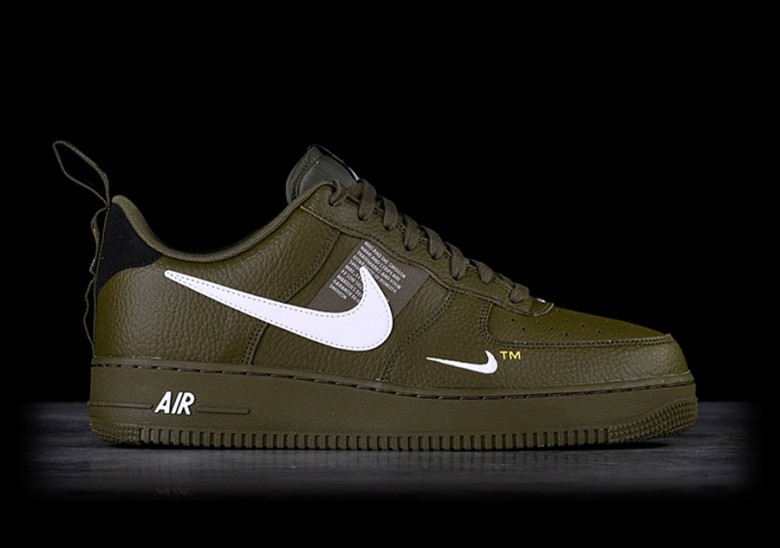 timeless design f733c 42ecd NIKE AIR FORCE 1  07 LV8 UTILITY OLIVE CANVAS