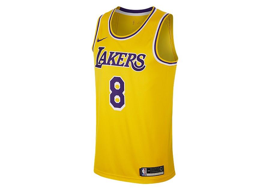 1aa10360fa8 NIKE NBA LOS ANGELES LAKERS KOBE BRYANT SWINGMAN ROAD JERSEY AMARILLO price  €95.00   Basketzone.net