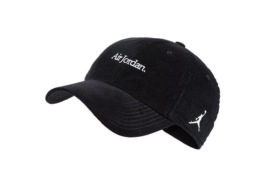 056b1c050737 NIKE AIR JORDAN H86 CORDUROY CAP BLACK price €27.50