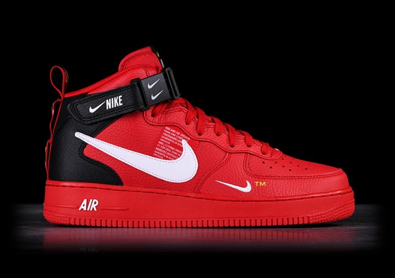 a0c90982363 NIKE AIR FORCE 1 MID  07 LV8 UTILITY RED pour €127