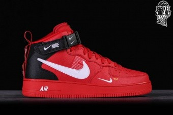promo code b5050 a7d5f NIKE AIR FORCE 1 MID  07 LV8 UTILITY RED
