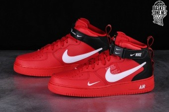 2a00003e9717 NIKE AIR FORCE 1 MID  07 LV8 UTILITY RED pour €127