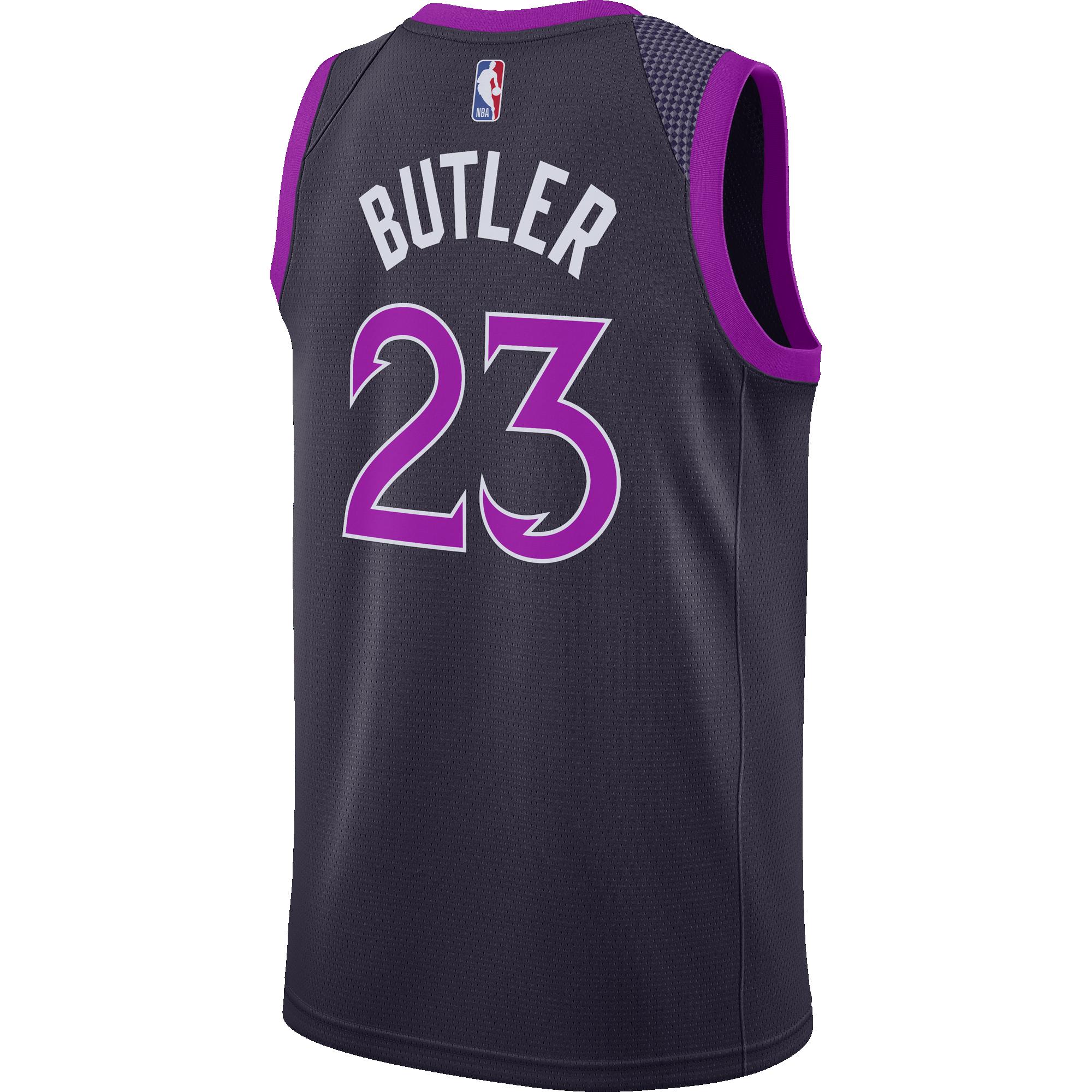 new styles 14acd 4d18d NIKE NBA MINNESOTA TIMBERWOLVES JIMMY BUTLER SWINGMAN JERSEY ...