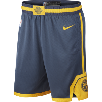NIKE NBA GOLDEN STATE WARRIORS SWINGMAN SHORTS