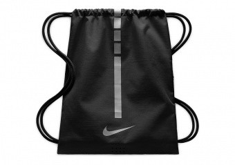 NIKE HOOPS ELITE GYMSACK 2.0 BLACK COOL GREY