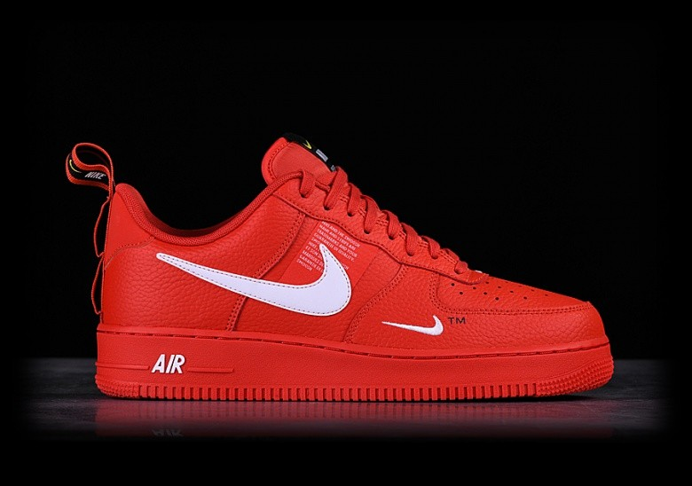 new arrival d10ee 165a2 NIKE AIR FORCE 1  07 LV8 UTILITY TEAM ORANGE
