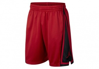NIKE AIR JORDAN FRANCHISE SHORTS GYM RED BLACK