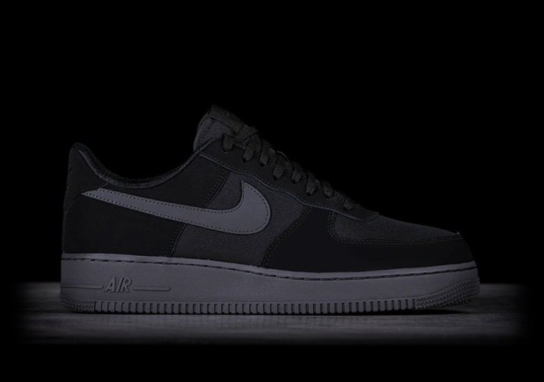 the best attitude 4bcbf 15e61 NIKE AIR FORCE 1  07 TXT BLACK