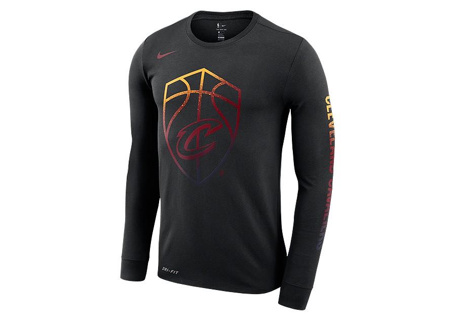 timeless design fccfd abcb8 NIKE NBA CLEVELAND CAVALIERS LOGO DRY TEE BLACK per €37,50 ...
