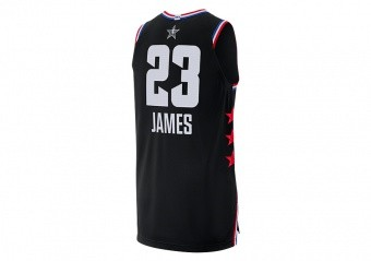 premium selection 2ceb5 e41df CAMISETAS. NIKE AIR JORDAN NBA ALL STAR WEEKEND 2019 LEBRON JAMES AUTHENTIC  JERSEY BLACK