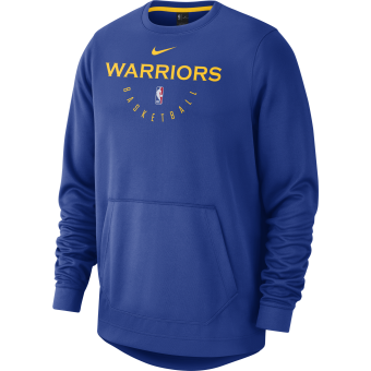 NIKE NBA GOLDEN STATE WARRIORS SPOTLIGHT CREW HOODIE