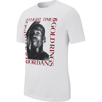 AIR JORDAN MJ FLIGHT TIME TEE