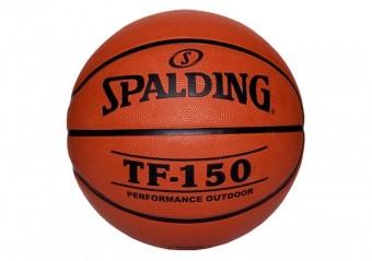 SPALDING TF-150 OUTDOOR FIBA LOGO (SIZE 5) ORANGE