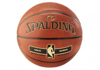 SPALDING NBA TACT SOFT GOLD IN/OUT (SIZE 7) ORANGE
