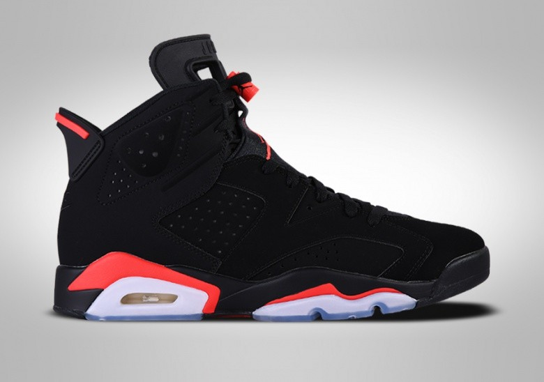 NIKE AIR JORDAN 6 RETRO BLACK INFRARED