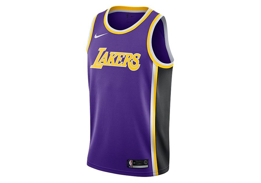 8dbc06aeebe NIKE NBA LOS ANGELES LAKERS SWINGMAN JERSEY FIELD PURPLE price €77.50