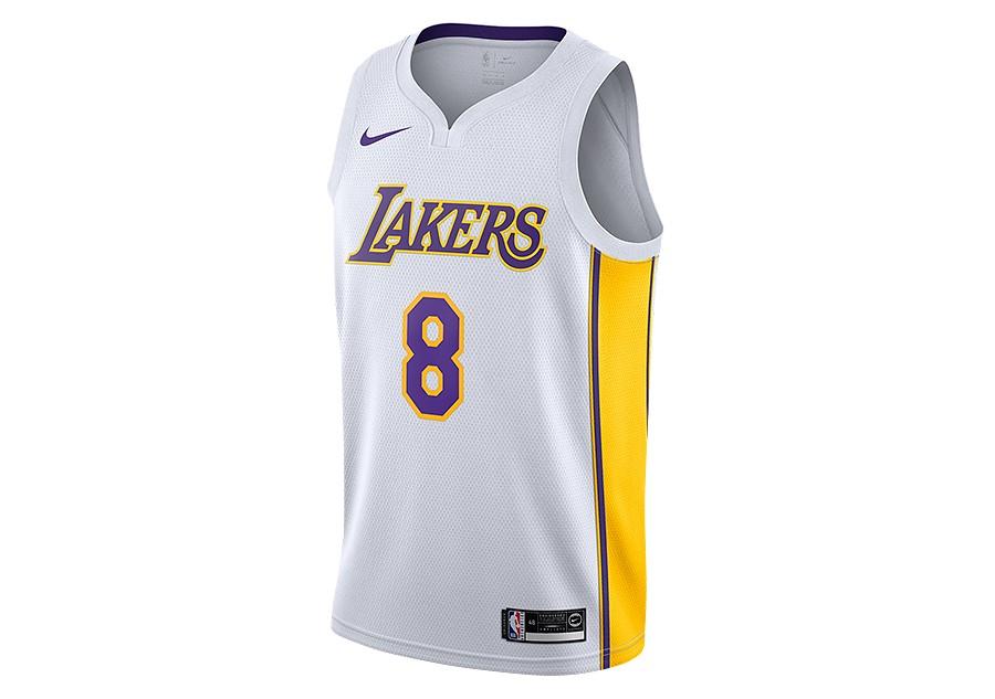 Nike Dri Fit Kobe Bryant LA Lakers Black T Shirt L
