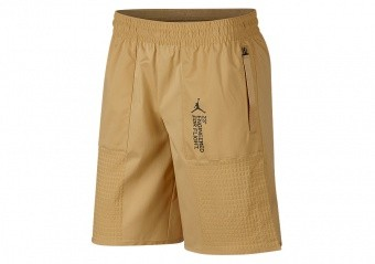 NIKE AIR JORDAN 23 ENGINEERED FLEECE SHORTS CLUB GOLD