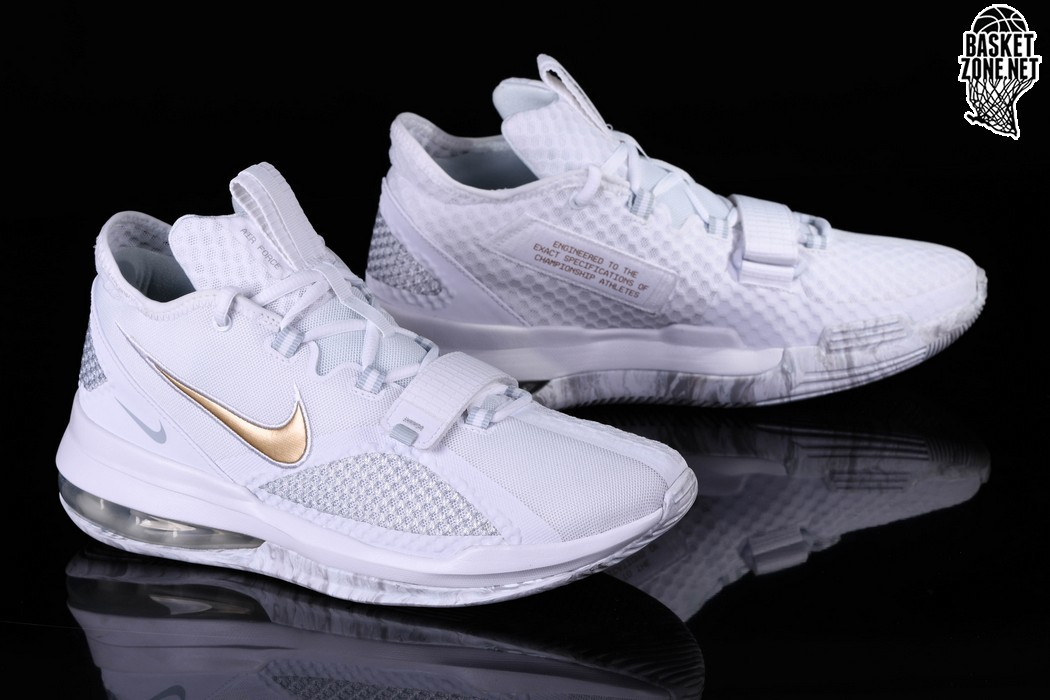 NIKE AIR FORCE MAX LOW WHITE GOLD price