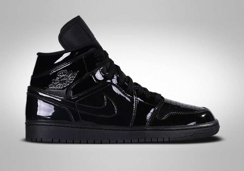 NIKE AIR JORDAN 1 RETRO MID WMNS BLACK