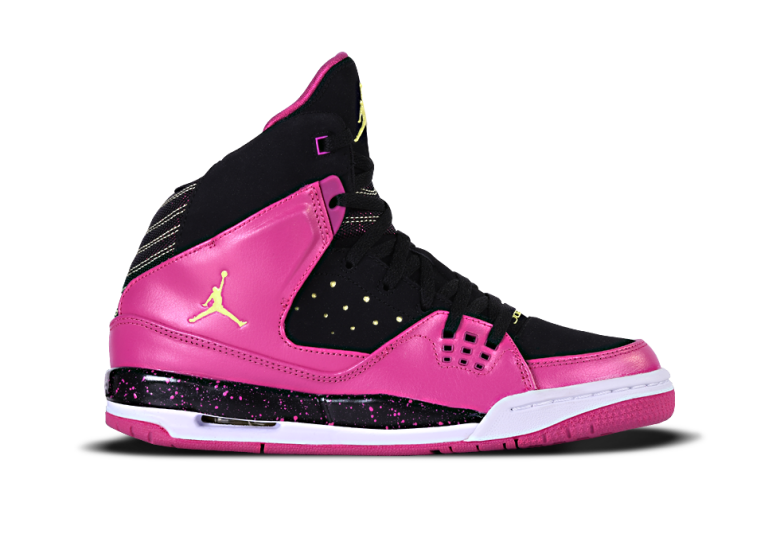 NIKE GIRLS JORDAN SC-1 GS BLACK FLASH