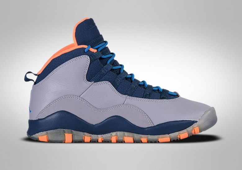 NIKE AIR JORDAN 10 RETRO GS BOBCATS