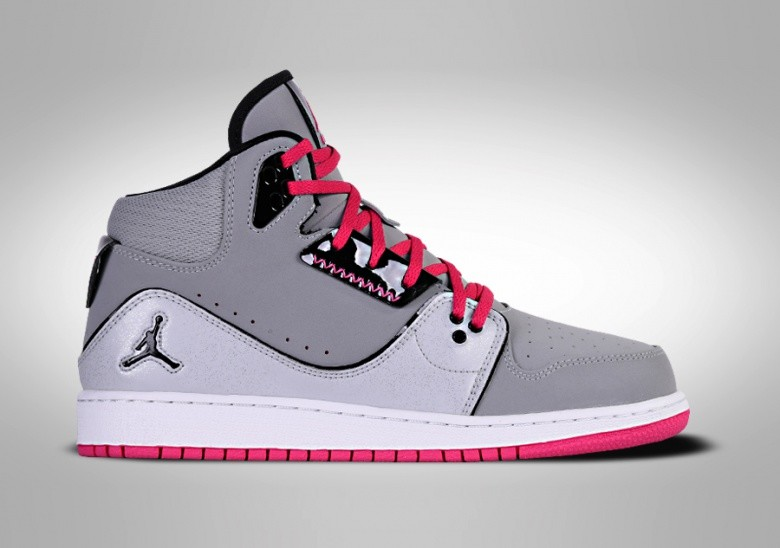 NIKE AIR JORDAN 1 FLIGHT GS GREY PINK
