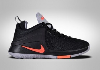 NIKE LEBRON ZOOM WITNESS (GS) BLACK TOTAL CRIMSON