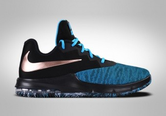 NIKE AIR MAX INFURIATE 3 LOW BLACK BLUE METALLIC BRONZE