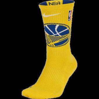NIKE NBA GOLDEN STATE WARRIORS ELITE CREW SOCKS
