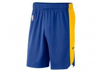 NIKE NBA GOLDEN STATE WARRIORS SHORTS RUSH BLUE