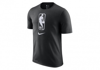 NIKE NBA TEAM 31 DRY TEE BLACK WHITE