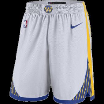 NIKE NBA GOLDEN STATE WARRIORS SWINGMAN HOME SHORTS