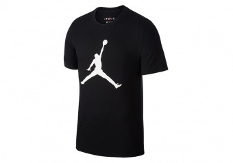 NIKE AIR JORDAN JUMPMAN TEE BLACK WHITE