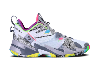 AIR JORDAN WHY NOT ZER0.3 GS MULTICOLOR