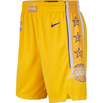 NIKE NBA LOS ANGELES LAKERS SWINGMAN SHORTS