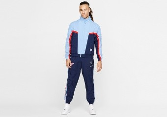 NIKE NBA CHICAGO BULLS CITY EDITION COURTSIDE TRACKSUIT COLLEGE NAVY