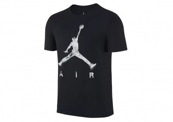 NIKE AIR JORDAN JUMPMAN AIR DREAMS TEE BLACK