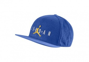 NIKE AIR JORDAN PRO SPORT DNA TERRY CAP GAME ROYAL