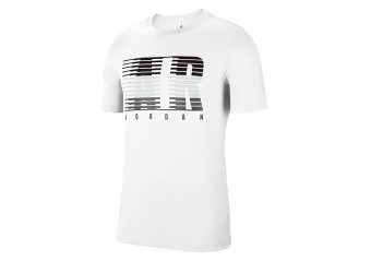 NIKE AIR JORDAN AIR MOTION TEE WHITE